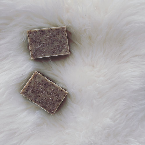 Love Bar Organic Soap  Coffee  3oz
