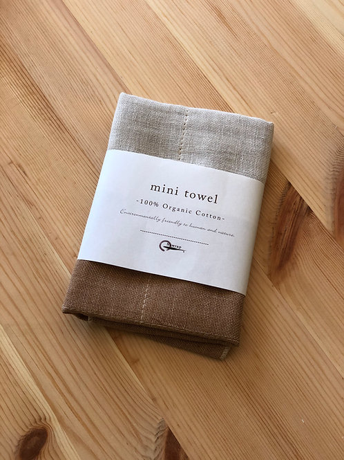100% Organic Mini Towel