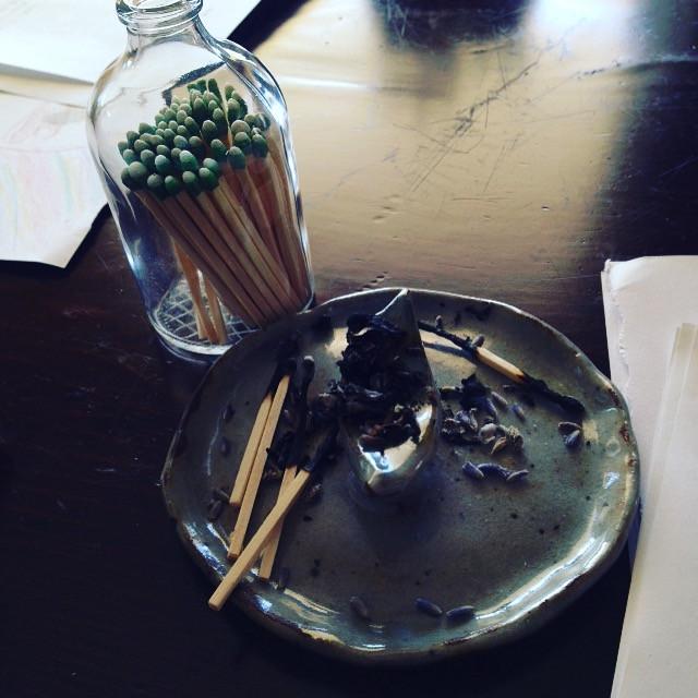 Dream Ritual with Lavender, Sage