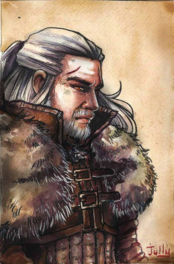 """Geralt from """"The Witcher"""""""