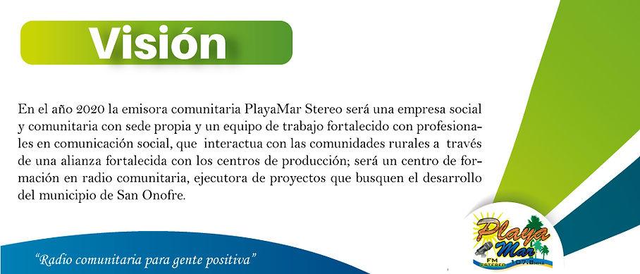 Visión - Playamar Stereo 107.8 fm