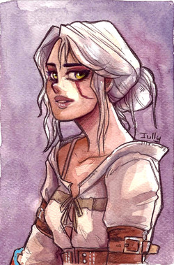 """Cirilla from """"The Witcher"""""""