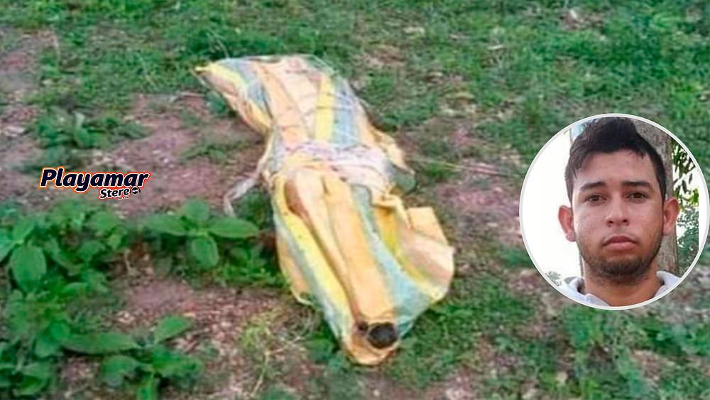 Encuentran en un saco el cadáver de un joven