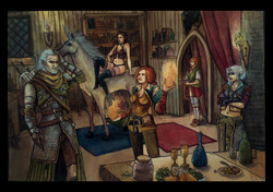 """Characters from """"The Witcher"""""""