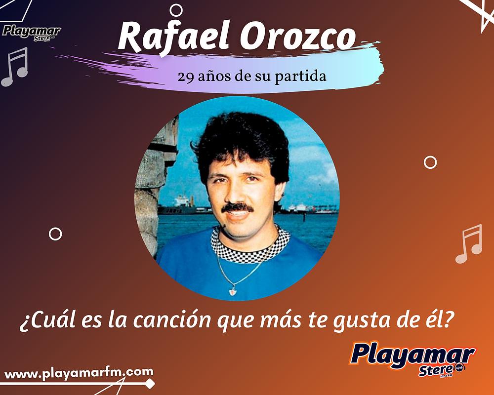 29 años sin Rafael Orozco