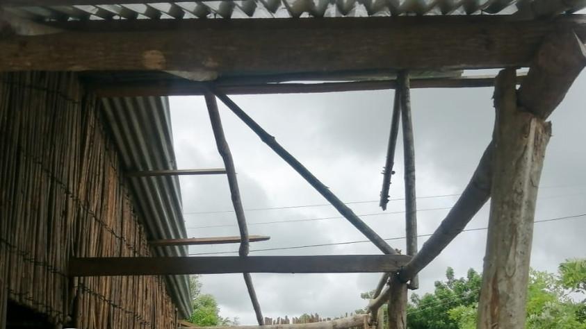 Monitoreo y censo de afectados por vientos huracanados
