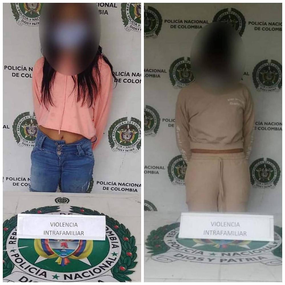 Dos mujeres fueron detenidas por maltratar a sus esposos