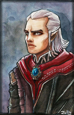 """Avallac'h from """"The Witcher"""""""