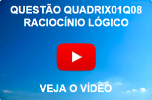 QUADRIX01Q08 - 2012 - CFQ - RACIOCÍNIO LÓGICO