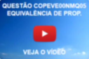 COPEVE00NMQ05 - COPEVE - 2014 - PREFEITURA DE FEIRA GRANDE - NÍVEL MÉDIO - EQUIVALÊNCIA DE PROPOSIÇÕES