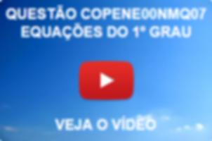 COPEVE00NMQ07 - COPEVE - 2014 - PREFEITURA DE FEIRA GRANDE - NÍVEL MÉDIO - EQUAÇÕES DO 1º GRAU