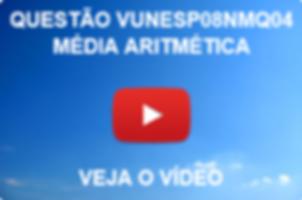 VUNESP08NMQ04 - VUNESP - 2015 - UNESP - MÉDIA ARITMÉTICA