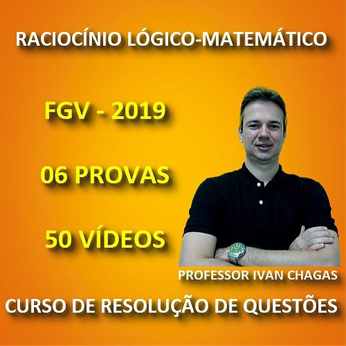 FGV 2019 - PREFEITURA SALVADOR - RACIOCÍNIO LÓGICO-MATEMÁTICO - PDF + 50 VÍDEOS