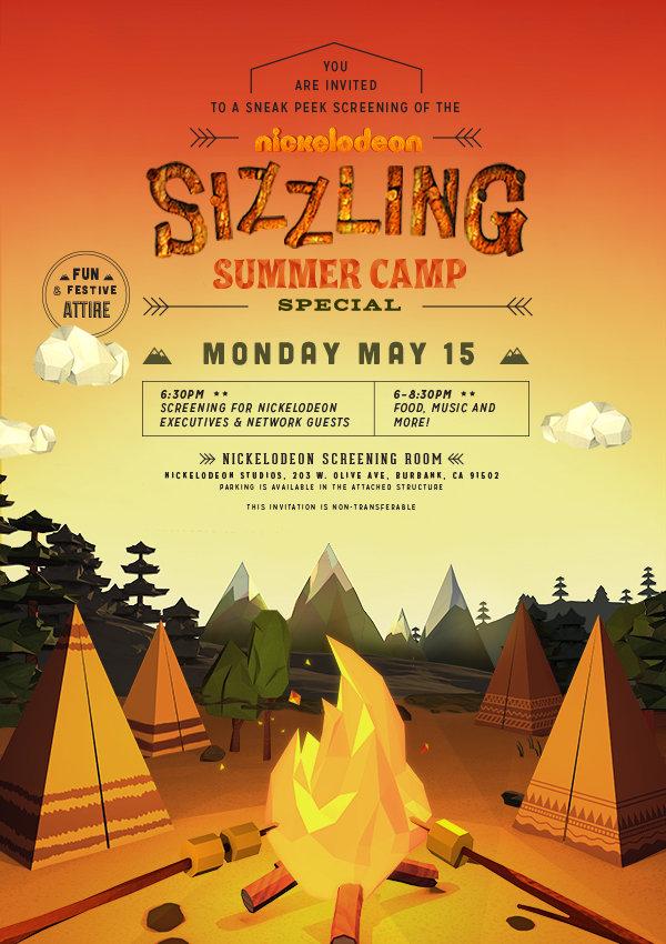 SS Summer Camp - Digital Film Invitation