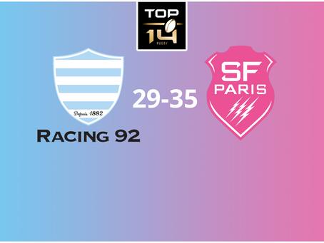 Le Stade Français s'offre le derby sur la pelouse du Racing