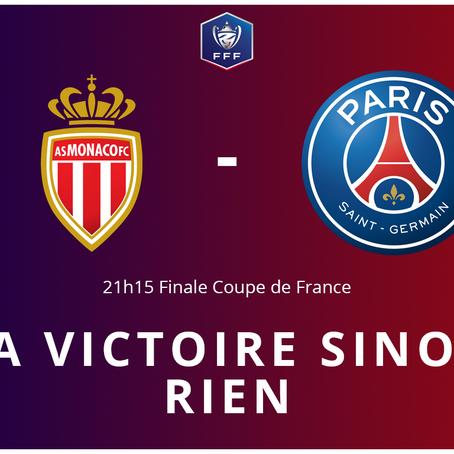Finale de Coupe de France, la victoire sinon rien pour le PSG