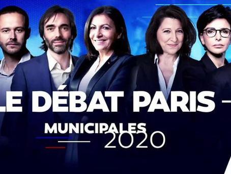 """Municipales """"la Grande confrontation"""" 7 candidats à la Mairie s'affrontent ce soir sur LCI"""
