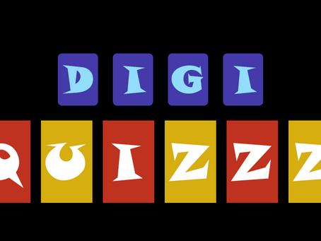 DIGI QUIZZZ - Podcast du 1er numéro du jeu du Vendredi