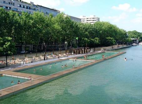 Pas de baignade au bassin de la Villette à cause des analyses de l'eau