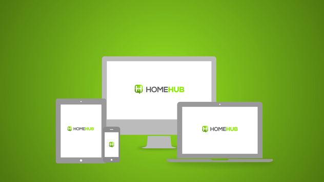 """Welcome"" - HomeHub"