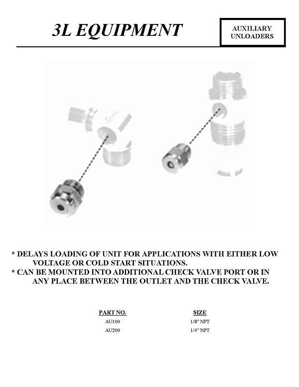 3L Equipment, Auxiliary Unloaders, AU100, AU200