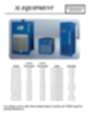3L Equipment, Refrigerated Air Dryers, RAc-10-NA-PT, RAc-10-NA-PT, RAc-20-NA-PT, RAc-35-NA-PT, RAc-50-NA-PT, RAc-75-NA-PT, RAc-100-NA-PT, RAc-150-NA-PT, RAc-175-NA-ET, RAc-220-NA-ET, RAc-300-NA-ET, RAc-375-NA-ET, RAc-480-NA-ET, TM 480