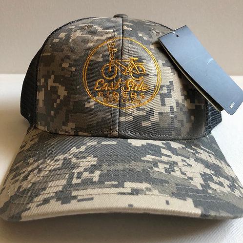 ESR New Camo/Light Gray Trucker Hat