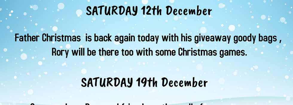 Christmas Events 2020