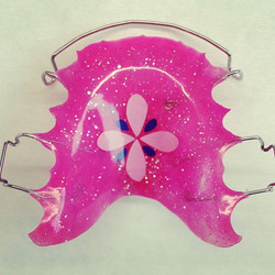 Pretty in Pink! #retainers #orthodontics #orthoappliance #straightteeth #dentalappliance #retainersw