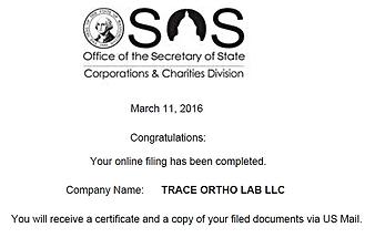 Trace Ortho Lab LLC