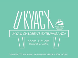 Blog tour with @thecraftyreader in advance of UKYA extravangza
