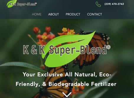 K & K Super – Blend® Launches New Website