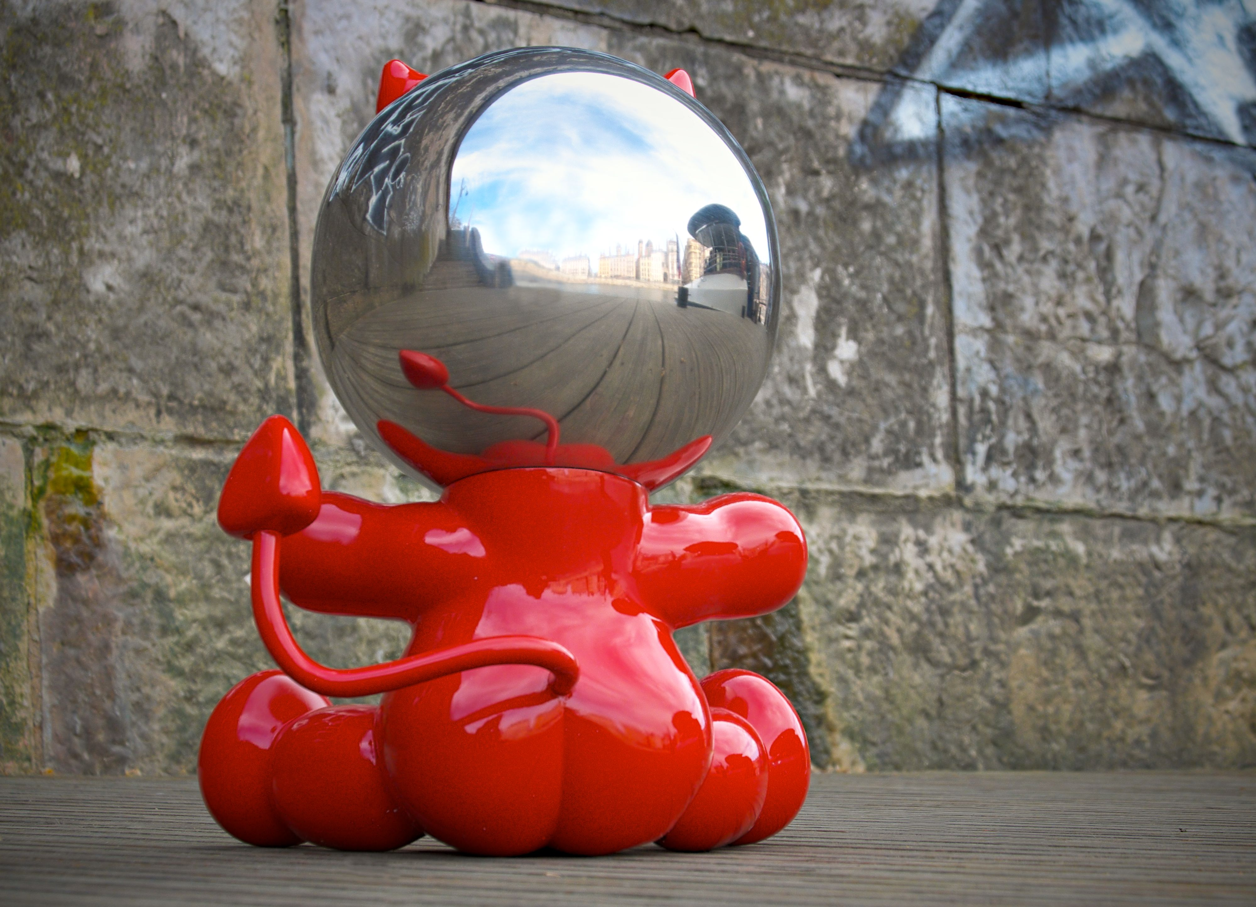 DIABLO Red Gloss back side