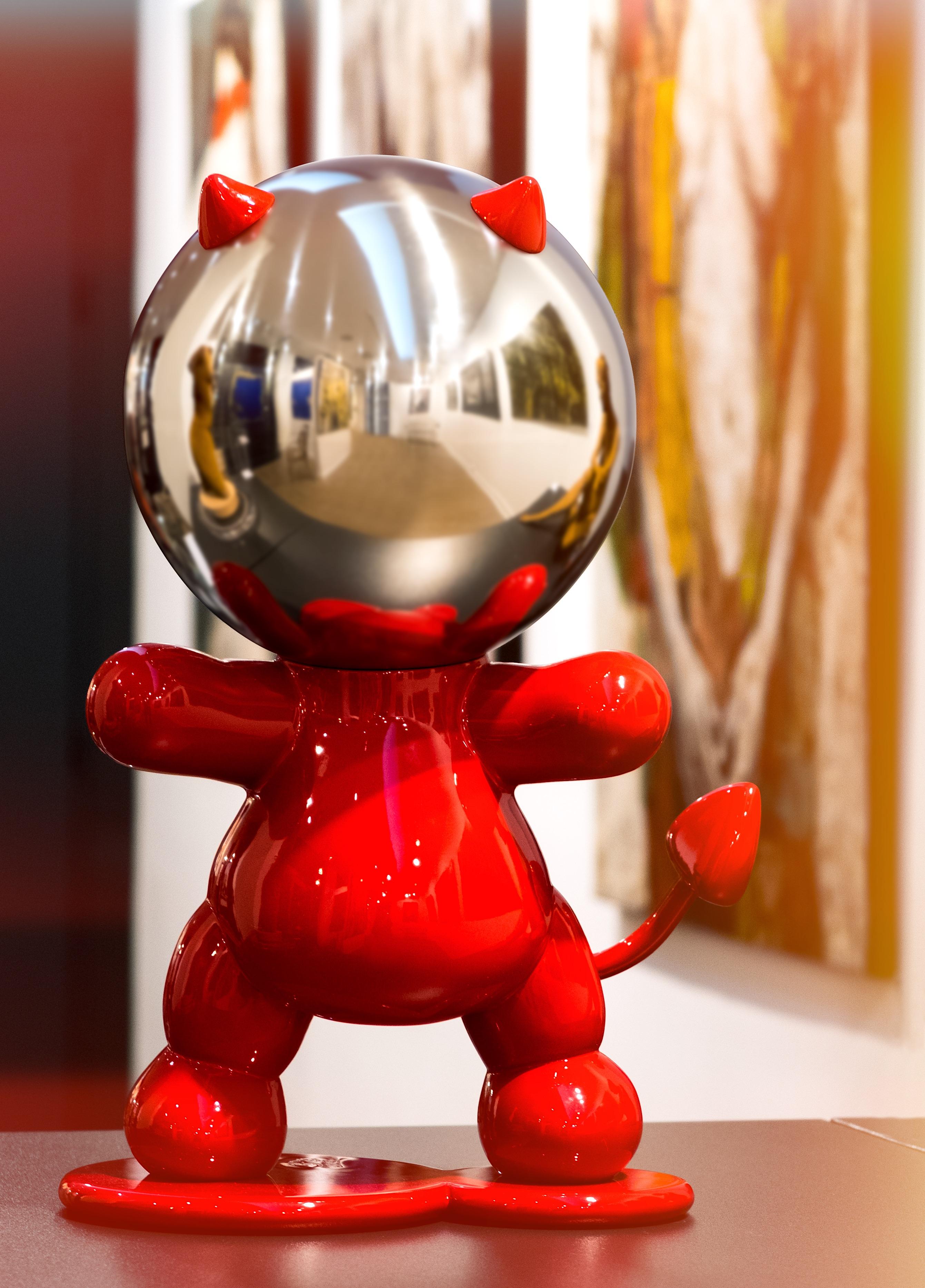 DIABLO RED GLOSS  standing