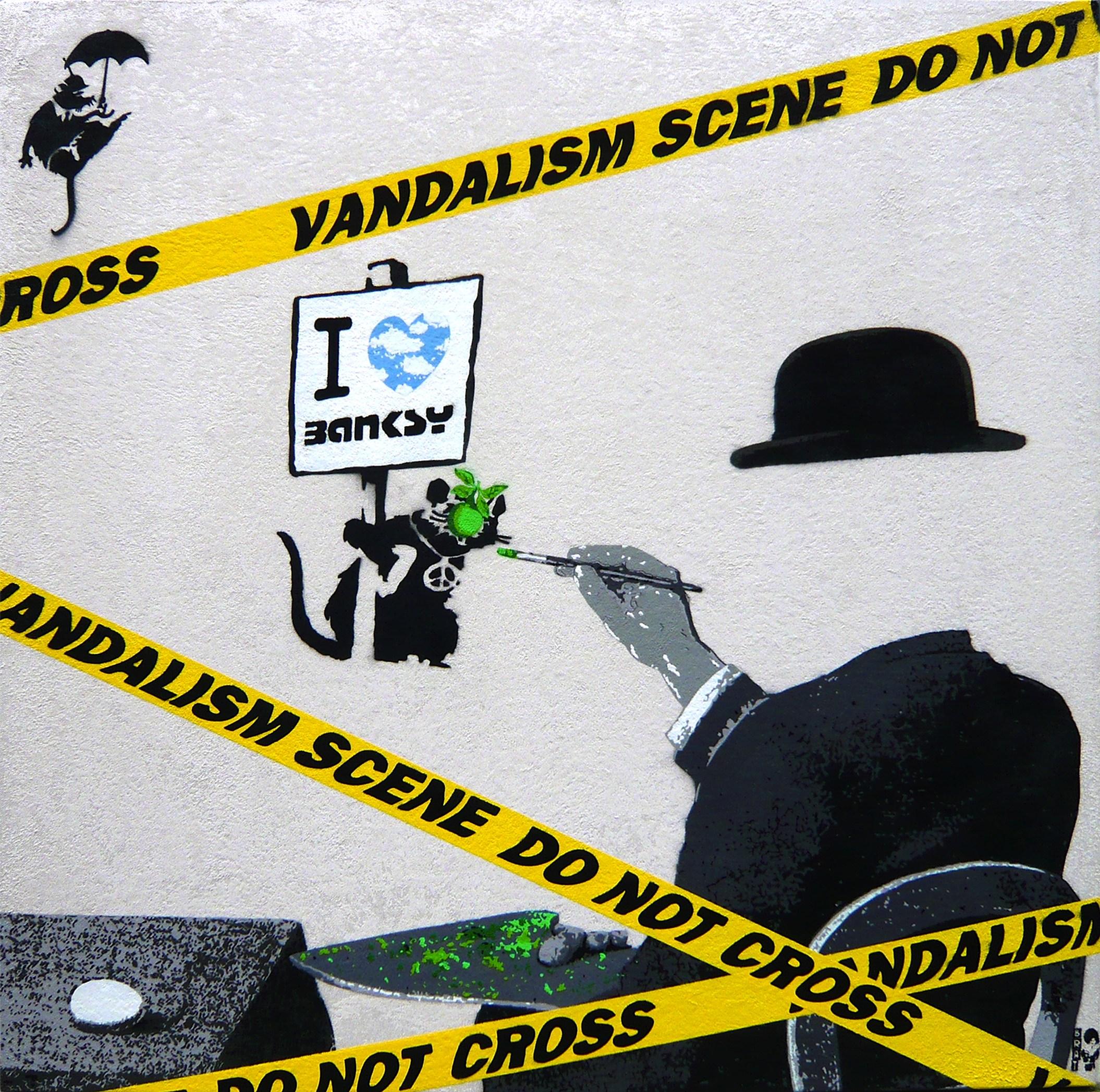 Magritte loves Banksy