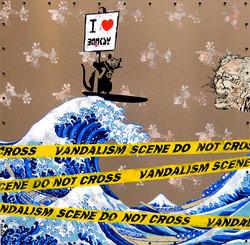 Hokusai loves Banksy
