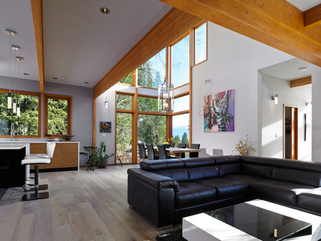 Post and beam interiors