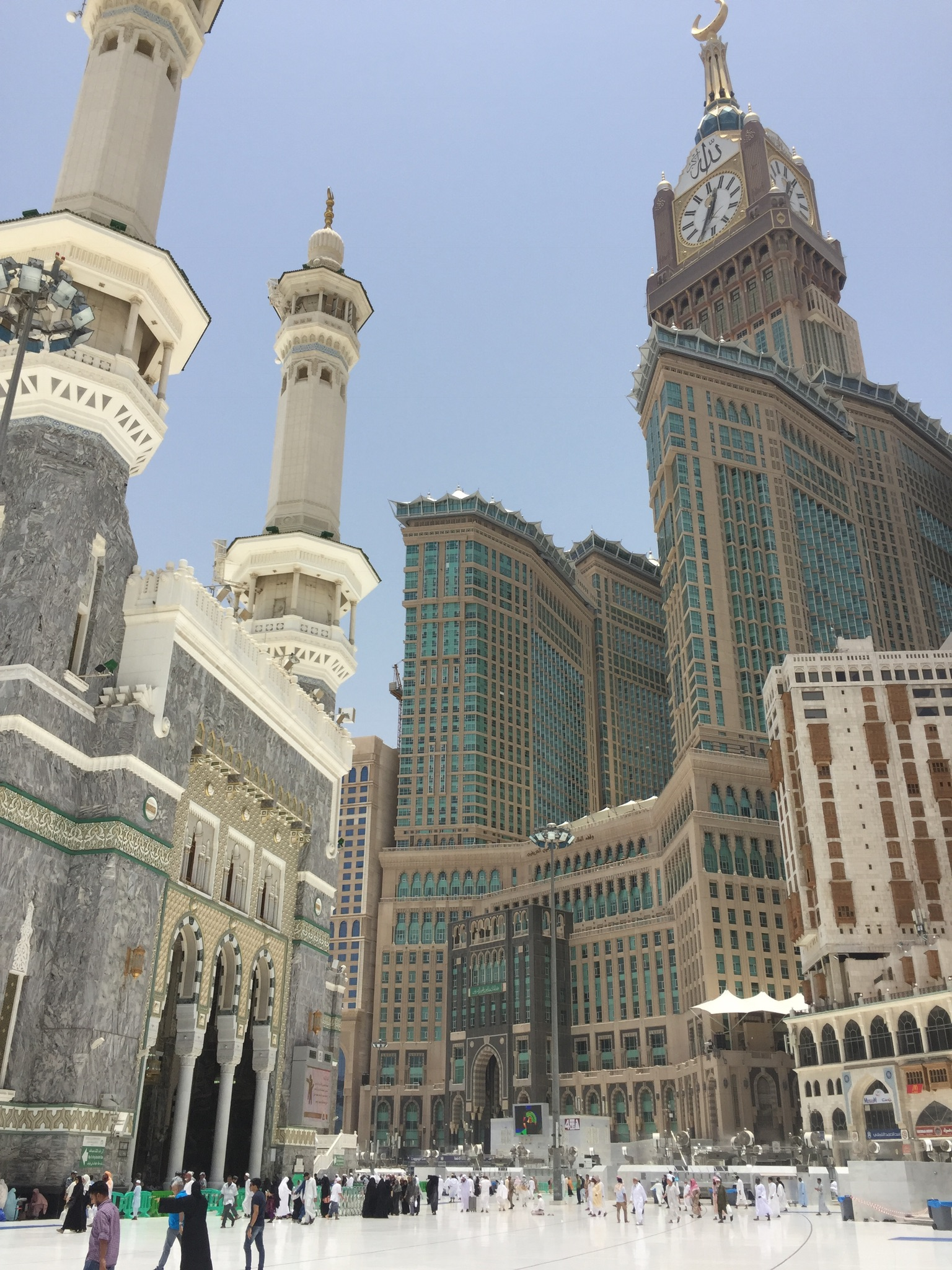 Stay at Abraj Al Bait (Clock Tower)