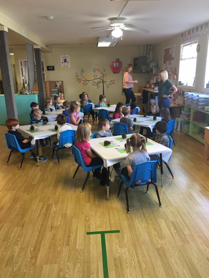 Sunshine Preschool Activity Time