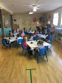 Sunshine Preschool Activity Time