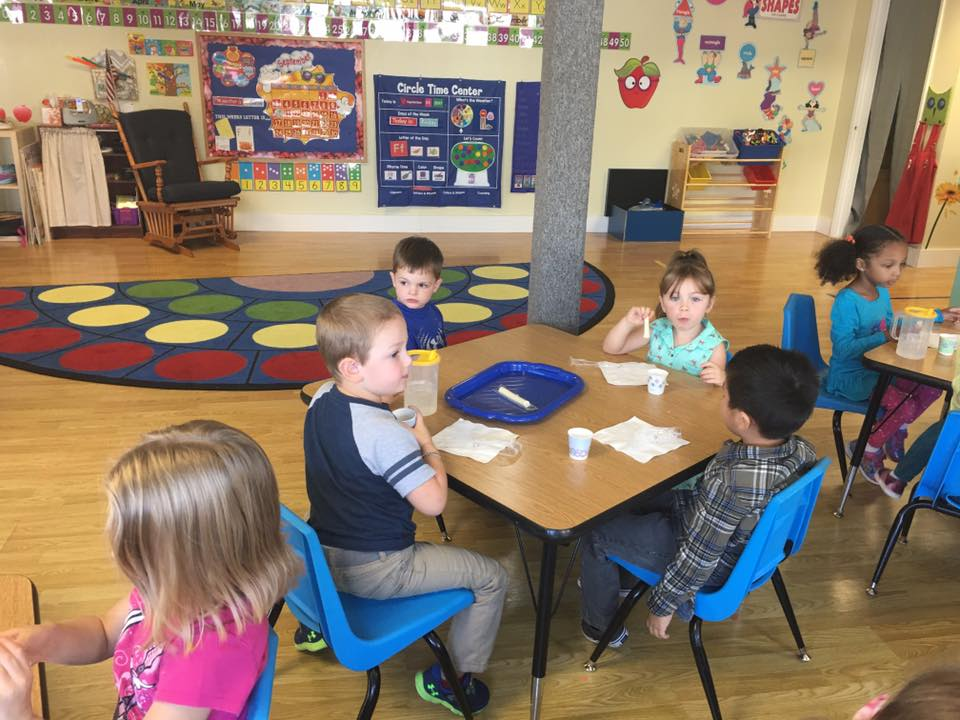 Sunshine Preschool Snack Time