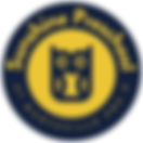 Circle Badge - Dark Blue and Yellow.png