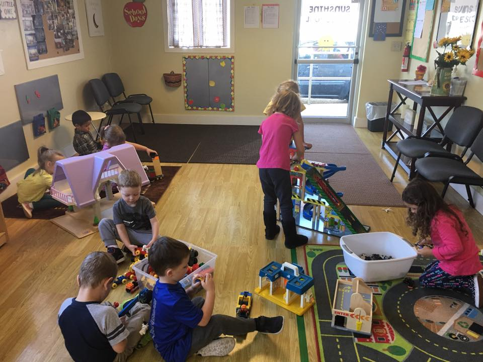 Sunshine Preschool Free Time