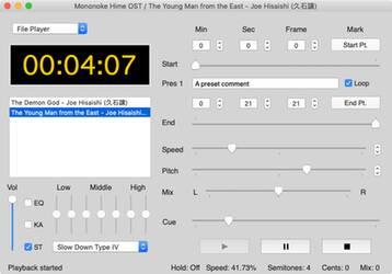 Amazing Slow Downer l'application qui contrôle le temps... ou presque.