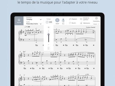 TomPlay, l'application qui permet de s'accompagner tout seul (même avec un orchestre symphonique)