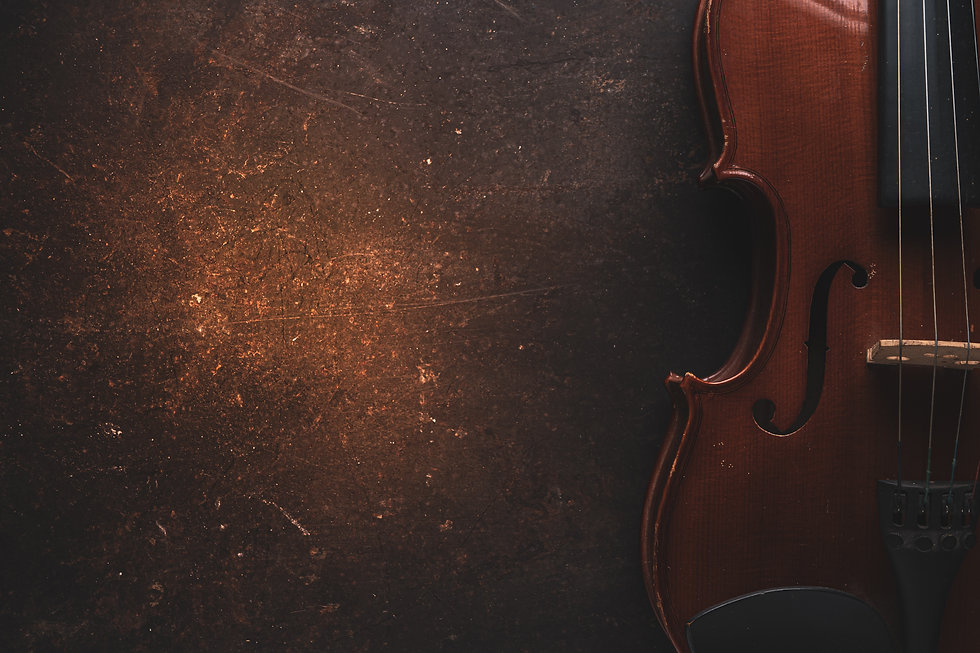 Violin on a black background,Classical violin isolated on dark background. Studio shot of