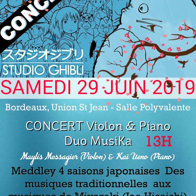 29.06.2019 - Duo MusiKa - Bordeaux USJ -