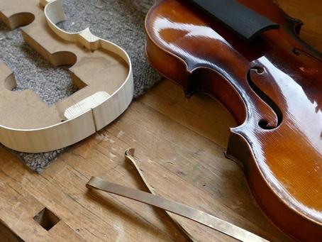 Comment commencer le violon - Information luthiers (matériel)