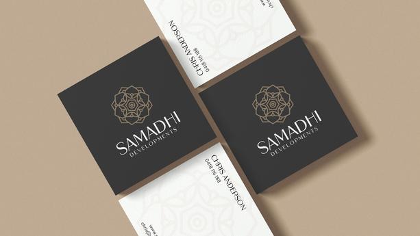 Samadhi Developments Business Cards