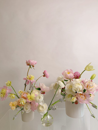 The Bundle - Medium Arrangement, Large Arrangement, and Bud Vase $350